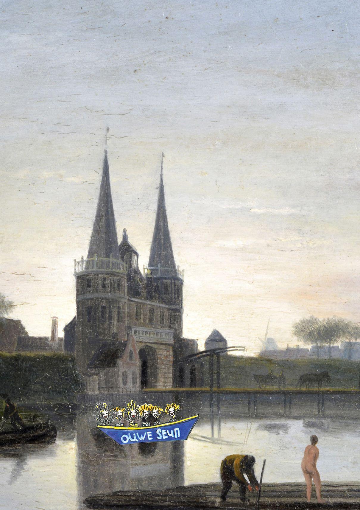 Schilderij Franekerpoort